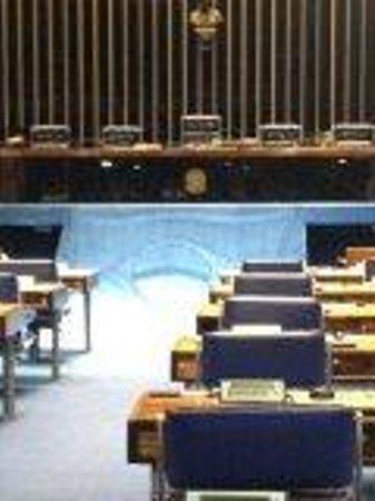 Congresso Nacional : sala dos senadores