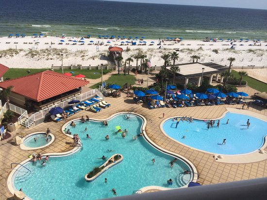Holiday Inn Resort Pensacola Beach : My view from my room