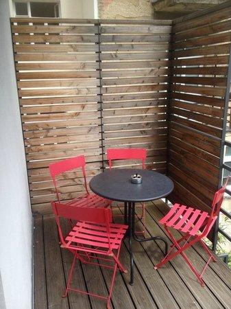 Bed&Breakfast Klafe: terrace
