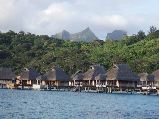 Conrad Bora Bora Nui : View from our Bungalow