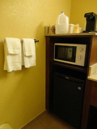 Rosen Inn at Pointe Orlando: microondas e frigobar