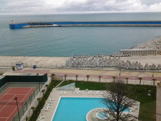 Radisson Blu Resort & Congress Centre: Вид из номера