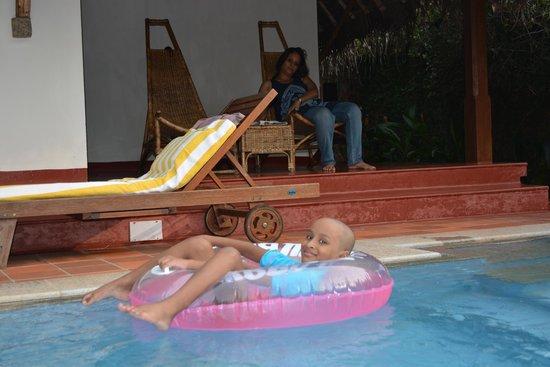 Marari Beach Resort : the pool villas....