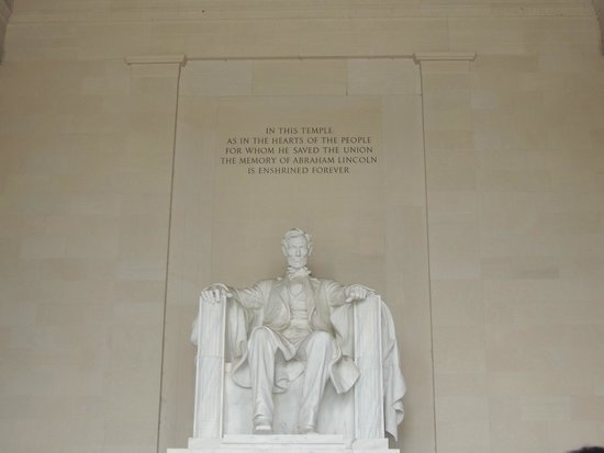 Lincoln Memorial and Reflecting Pool: Lincoln Memorial