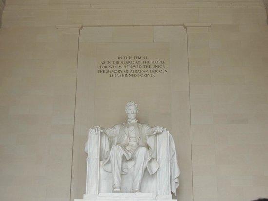 Lincoln Memorial et Reflecting Pool : Lincoln Memorial
