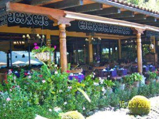 Hotel Atitlan : dining room