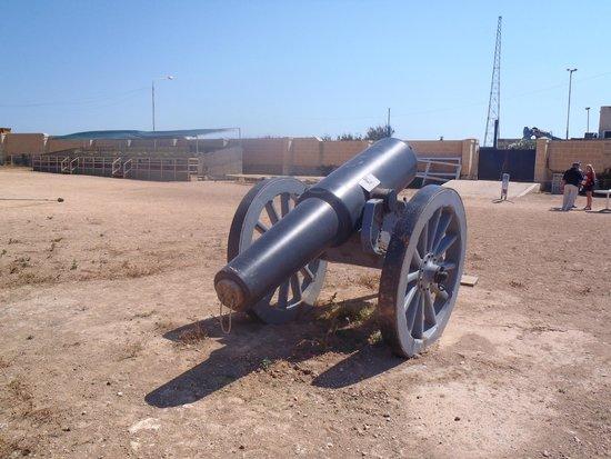 Fort Rinella: Howitzer