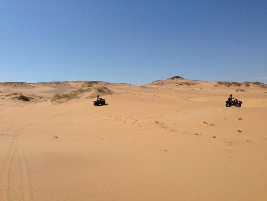 Wilderness Safaris Serra Cafema Camp: Quad riding in the Namib Dessert
