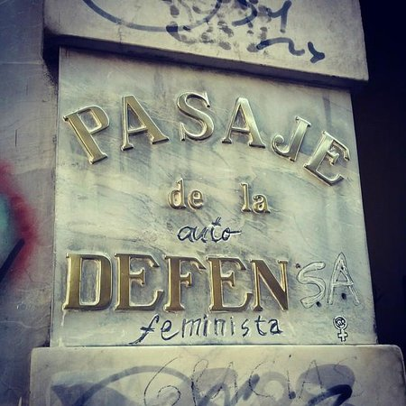 Pasaje La Defensa : Entrada