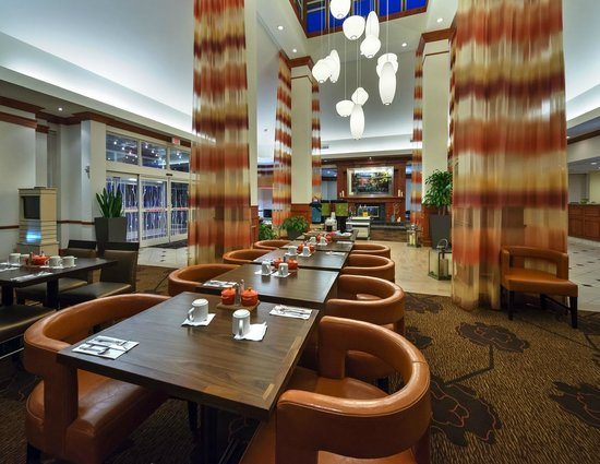 Hilton Garden Inn Lafayette/Cajundome: View from the Great American Grill