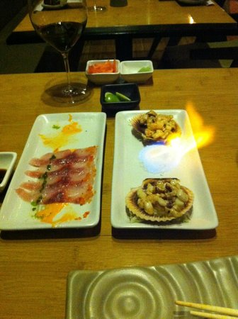 Osaka : some of the chef's tasting menu specialties