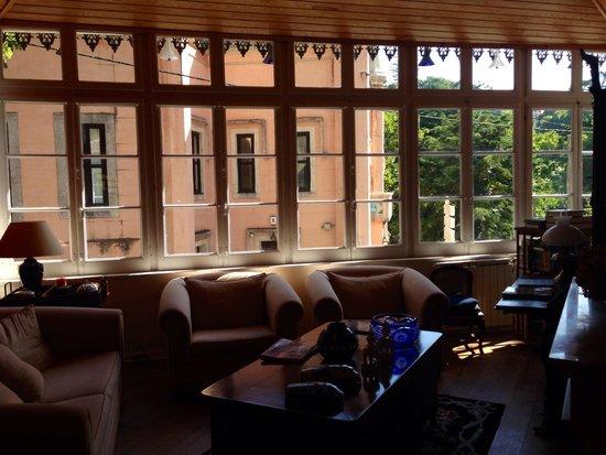 Casa das Campainhas: Sala de estar