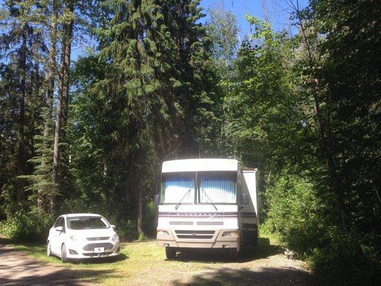 Golden Eco-Adventure Ranch: Space 34. Lots of room and privacy.