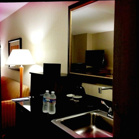 Embassy Suites by Hilton Dulles - North/Loudoun: Wet bar and sink