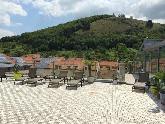 Hotel Galant: rooftop area with pool