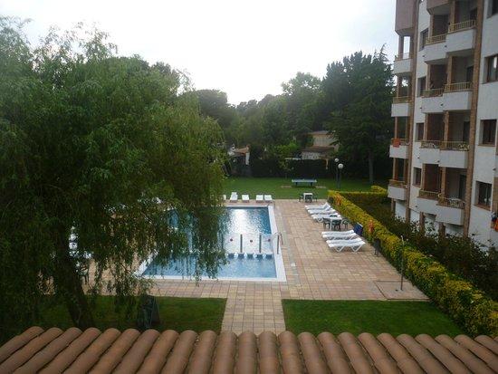 Aparthotel Las Mariposas: view from balcony