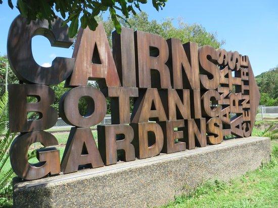 Cairns Botanic Gardens : Insegna