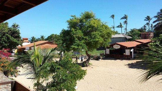 Pousada do Mauricio: Vista da varanda