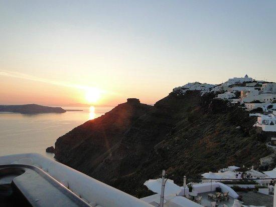 Sunset Hotel : Vista da Jacuzzi que fica disponível para uso comum dos hóspedes