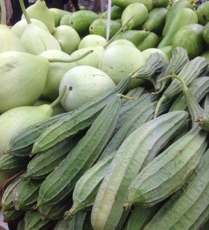 Indian Summer: Seasonal veg at zaman of datchet