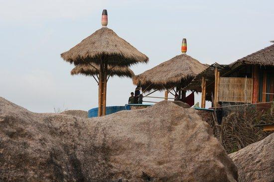 Charm Churee Villa : Beach House looking from the private beach