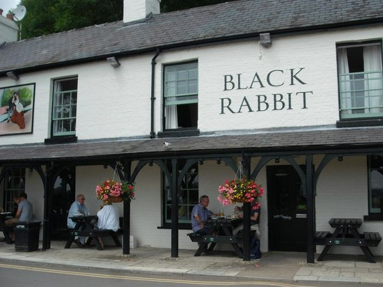 The Black Rabbit: Front of pub