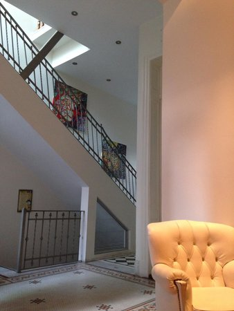 Hotel Boutique Raco de Buenos Aires: Lobby/stairs