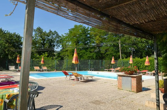 Hotel Le Renaie: The swimming pool