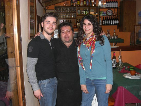 Restaurante Marqués de Cruilles: Vam disfrutar xarrant amb el senyor Pere