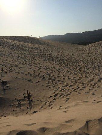 Playa de Bolonia: Hiking in the dunes