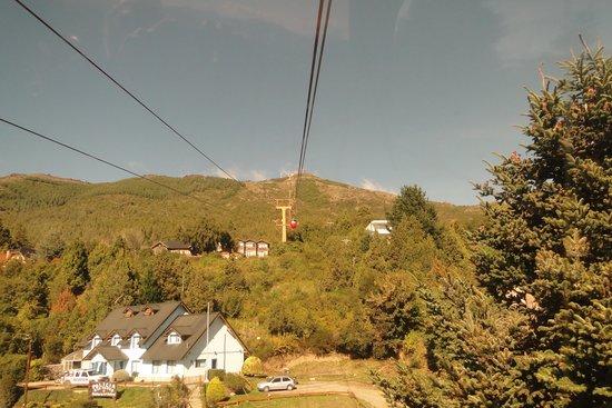 Subindo par ao Cerro Otto