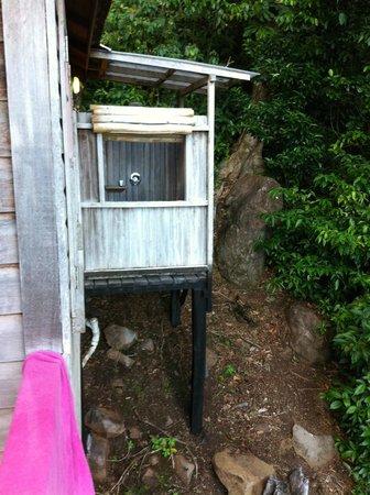 Jungle Bay, Dominica: la douche