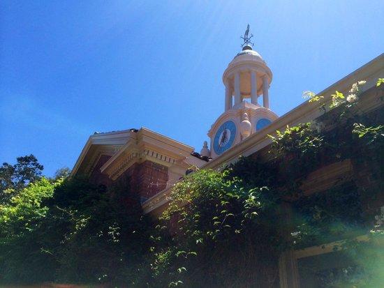 Filoli: gift shop/clock tower