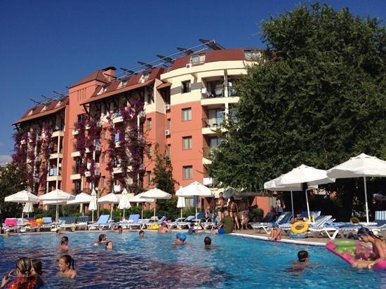 Palmeras Beach Hotel: отель