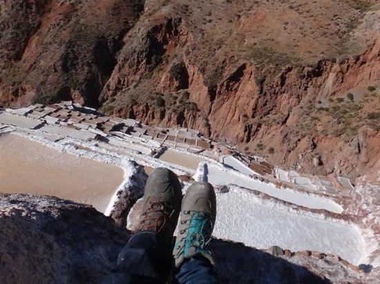 Salinas de Maras: Our climbers