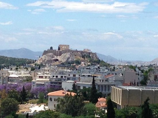 Hilton Athens: View From Room