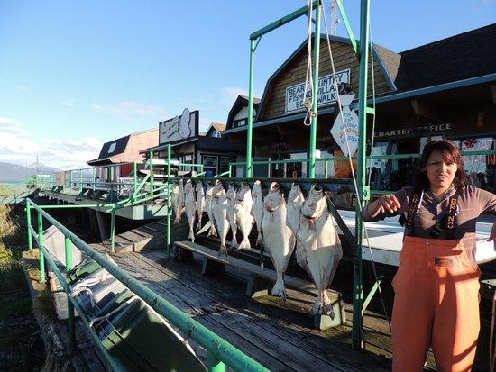 Kenai Peninsula Suites : Big Bear Fishing Charter Catch