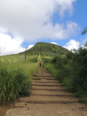 Koko Crater Railway Trail: here we go!