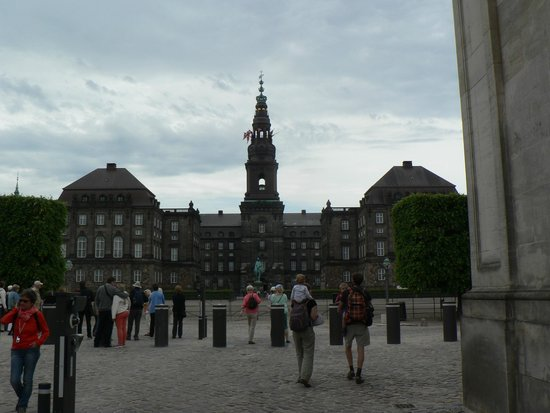 Palacio de Christiansborg: Christiansborg