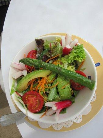 "Brasserie Le Sud : ""Plain"" Salad at Le sud"