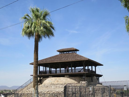 Yuma, AZ: The prison guard tower (located above a water tank).