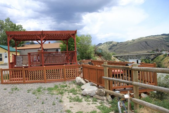 Sorry Hot Tub Has Been Removed Picture Of Yellowstone Riverside Cottages Gardiner Tripadvisor