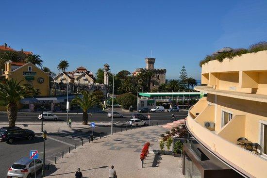 Vila Galé Estoril: Blick aus dem Hotelzimmer
