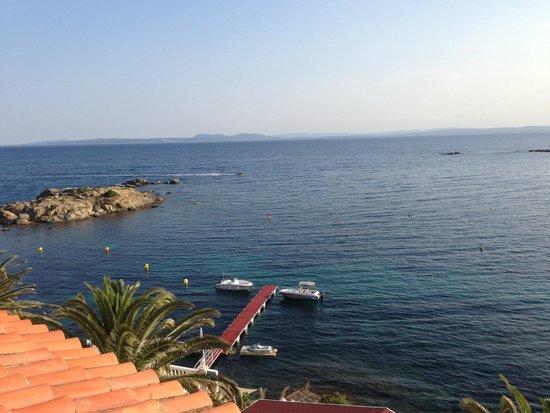 Vistabella : Vue de la terrasse