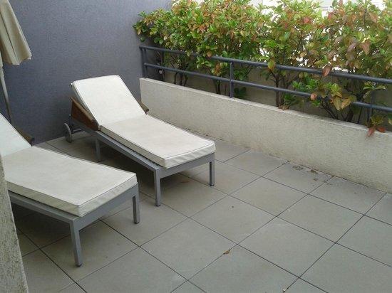Hotel La Fauceille: terrasse