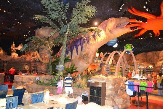 Inside the restaurant picture of t rex orlando for Restaurant t rex