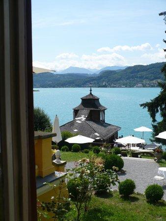 Schlossvilla Miralago: Ausblick von der Suite im EG