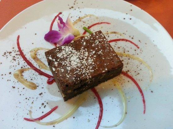 Iséo : dessert : brownie maison