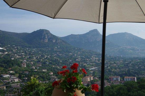 Hotel Miramar : vue de la terrasse