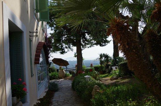 Hotel Miramar : jardin